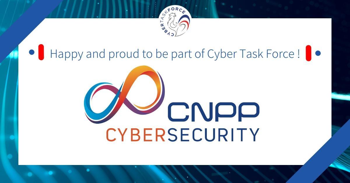 CNPP CYBERSECURIY REJOINT LA CYBERTASKFORCE